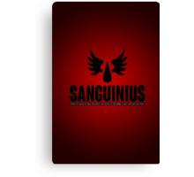 Sanguinius - Blood Angels - Damaged Canvas Print
