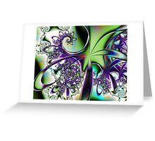Cartoon Swirls Greeting Card