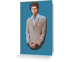 Kramer painting from Seinfeld Greeting Card