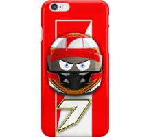 Kimi RAIKKONEN_2014_Helmet iPhone Case/Skin