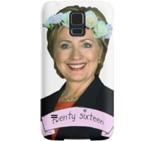 Hipster Hillary for President Samsung Galaxy Case/Skin