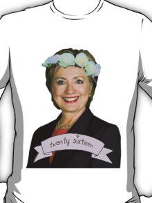 Hipster Hillary for President T-Shirt