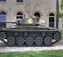 M24 Chaffee Tank by Jimmy Ostgard