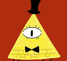 Bill Cipher by Foofoothesnoo