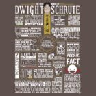 The Wise Words of Dwight Schrute (Dark Tee) by huckblade
