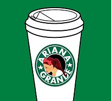 Ariana Grande Coffee by punksterpie
