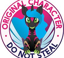 Original Character: Do Not Steal by pixel-prism