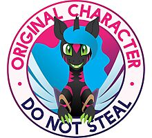 Original Character: Do Not Steal Photographic Print