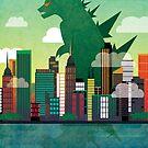 Godzilla. by knockedknees