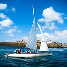Sailing off by Riko2us