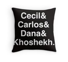 Welcome to Night Vale Throw Pillow