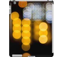 Abstract Bokeh Lights IV iPad Case/Skin