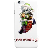 Tristana - Do you want a gift? iPhone Case/Skin