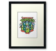 Filburt Turtle Framed Print