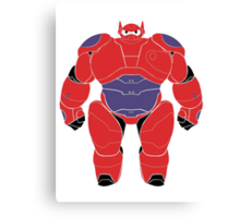 Baymax (Armored) Canvas Print