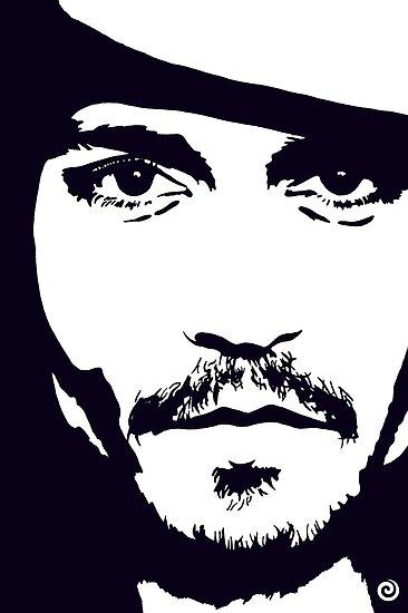 Johnny Depp by Jacqueline Eden