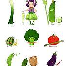 Veggie Army by Jiaqihe