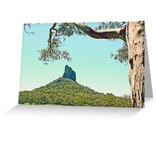 Mt Coonowrin (Crookneck) Greeting Card