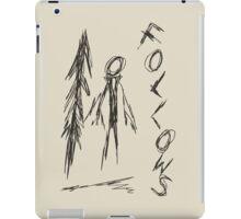 Slender - 4/8 iPad Case/Skin
