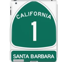 PCH - CA Highway 1 - Santa Barbara iPad Case/Skin