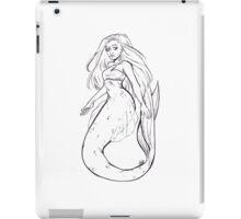 Inktober Mermaid iPad Case/Skin