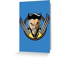 Time Travelers, Series 2 - Wolverine (Alternate) Greeting Card