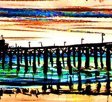 Newport Pier by ArtbyLeclerc