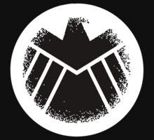 New Alternate S.H.I.E.L.D. Logo by SpyderAcidburn