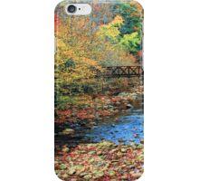AUTUMN NEAR GATLINBURG TN.  iPhone Case/Skin