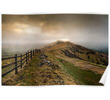 Path from Mam Tor Poster