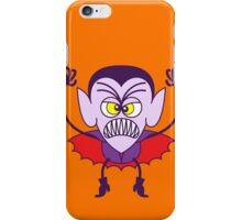 Scary Halloween Dracula Emoticon iPhone Case/Skin