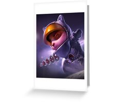 Teemo League of Legends Greeting Card