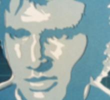 Han Solo Collage Sticker