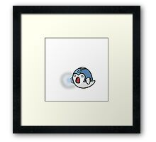 Super Smash Boos - Mega Man Framed Print