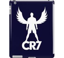 CR7 angel white iPad Case/Skin