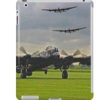 3 Lancasters - East Kirkby  iPad Case/Skin