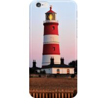 Happisburgh lighthouse shining iPhone Case/Skin