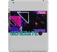 Generate_Pop iPad Case/Skin