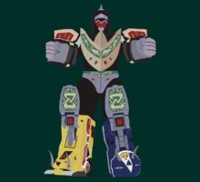 Mighty Morphin Power Rangers Mega Dragonzord by simplepete