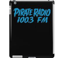 Pirate Radio - 100.3 FM - Shirt iPad Case/Skin
