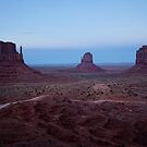 Twilight At Monument Valley by Lucinda Walter