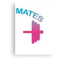 Mates (Swole - Mates Couples Design) Canvas Print