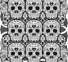 Sugar Skulls by spookydooky