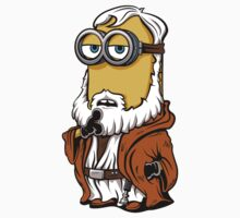 Minion Kenobi sticker by DJKopet