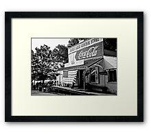 All American Birthday Framed Print