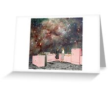 Luna Kitchen with a View Greeting Card
