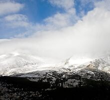 Storm pushing in - Colorado Mountains by pjphoto181
