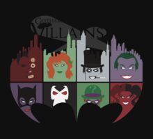 Gotham Villains by nova-i