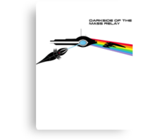 Darkside of the Mass Relay Canvas Print
