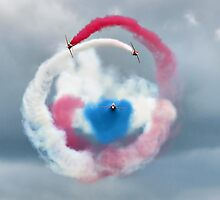 The Red Arrows - Head On  by Colin J Williams Photography